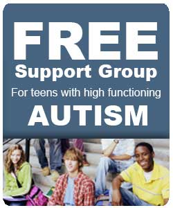 Free Support Group for Teens with High Functioning Autism or Asbergers