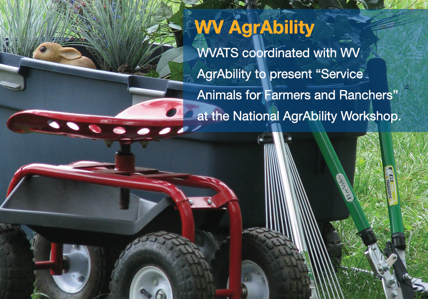 WVATS coordinated with WV AgrAbility to present