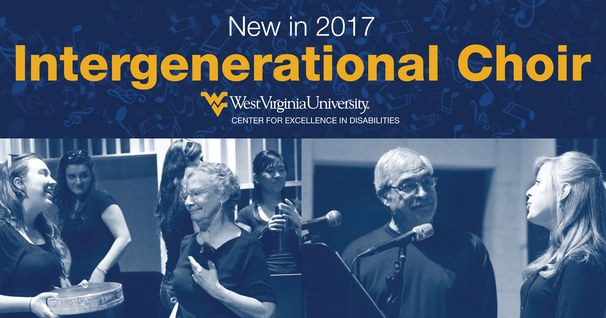 New in 2017 Intergenerational Choir
