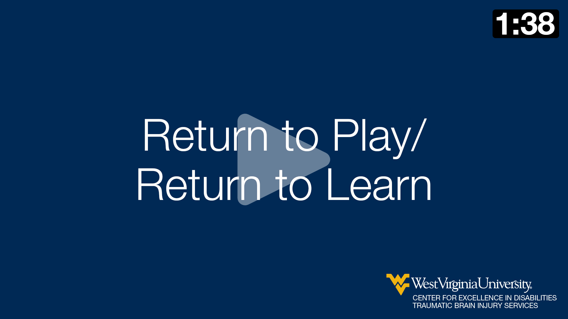 Nick Davidson talks about return to play/return to learn.